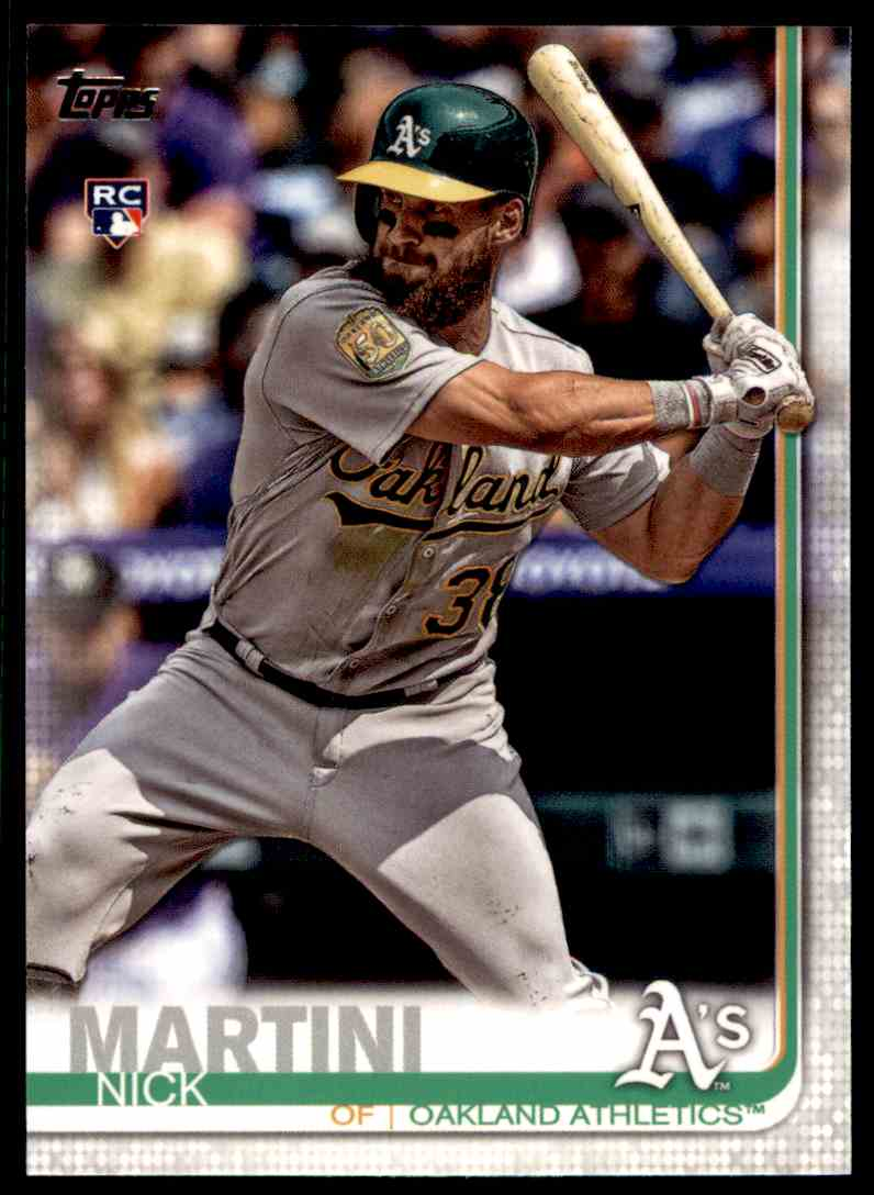 2019 Topps Series 2 Nick Martini #618 card front image