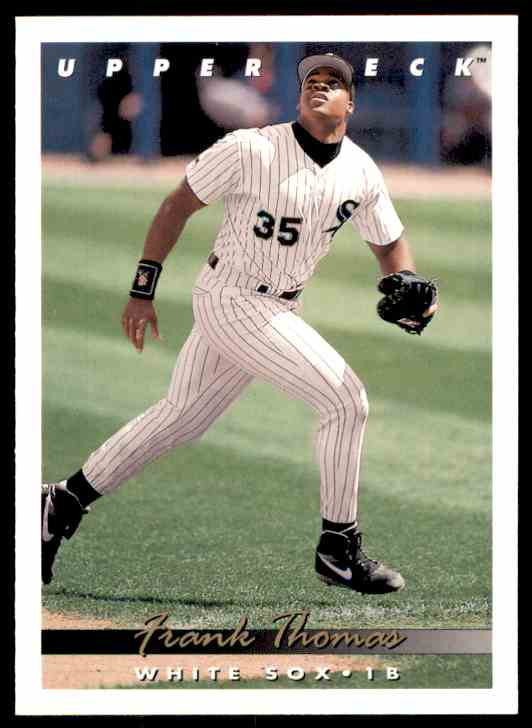 1993 Upper Deck Frank Thomas #555 card front image