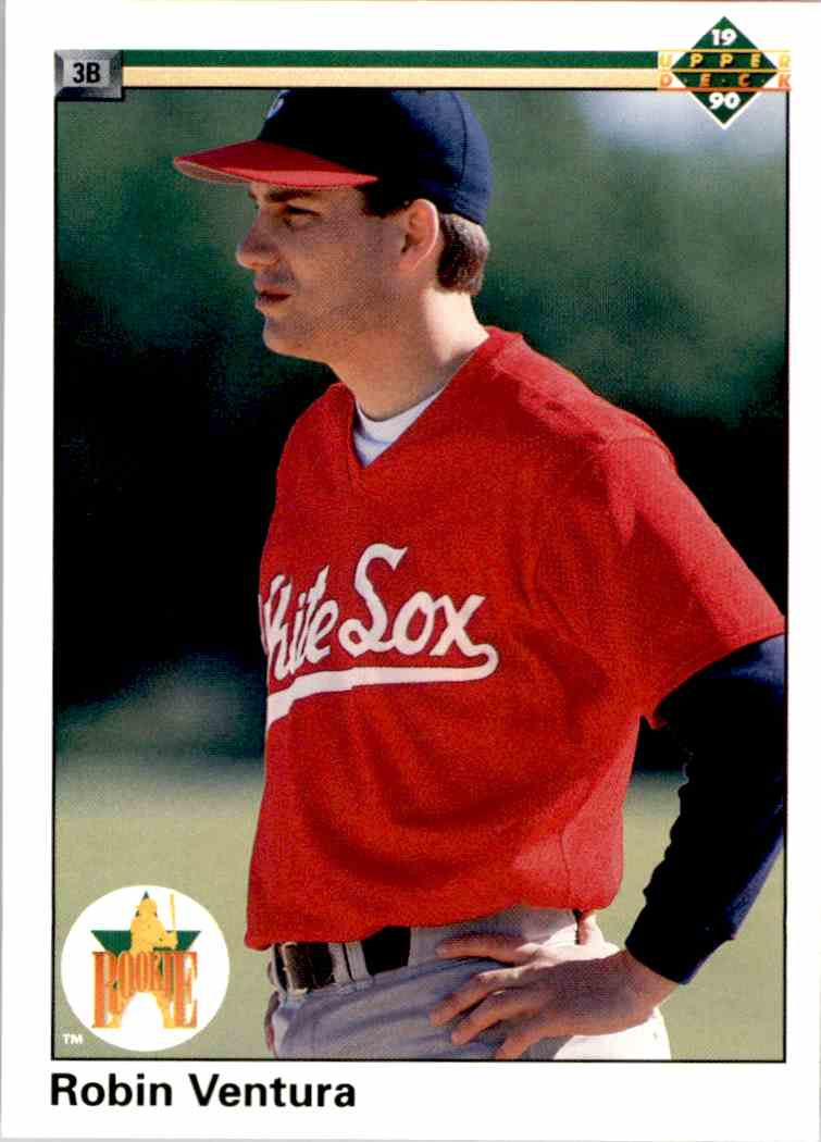 1990 Upper Deck Rookie Robin Ventura #21 card front image