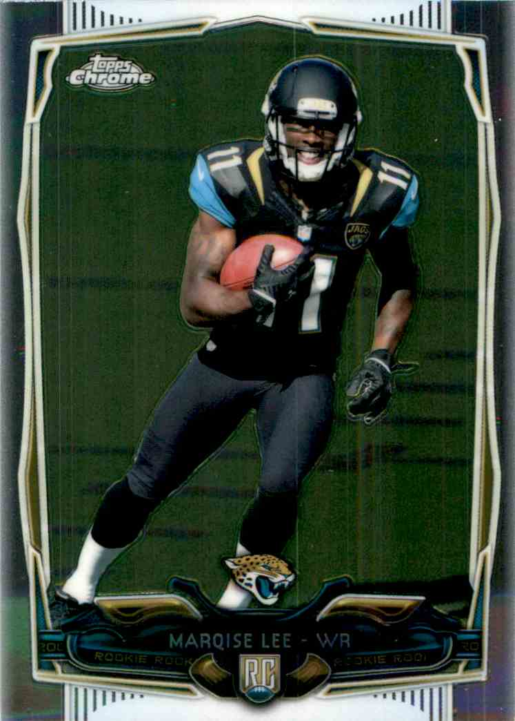 2014 Topps Chrome Marqise Lee RC #126 card front image
