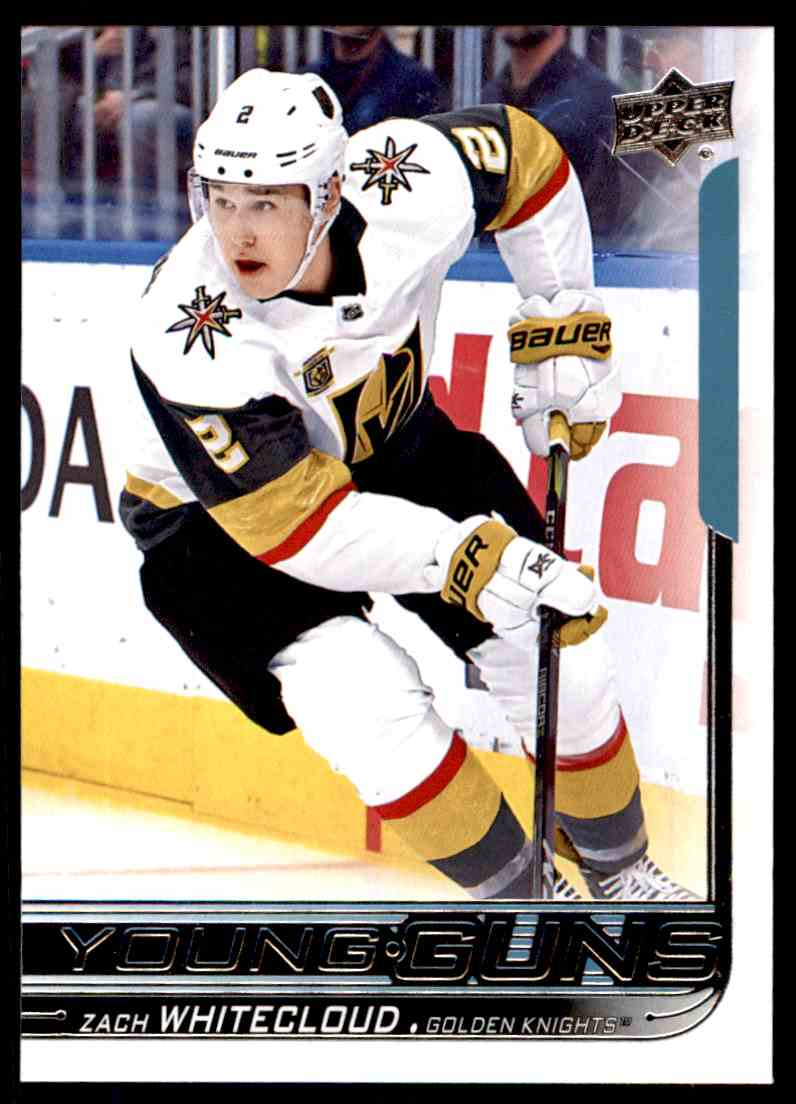 2018-19 Upper Deck Zach Whitecloud #237 card front image