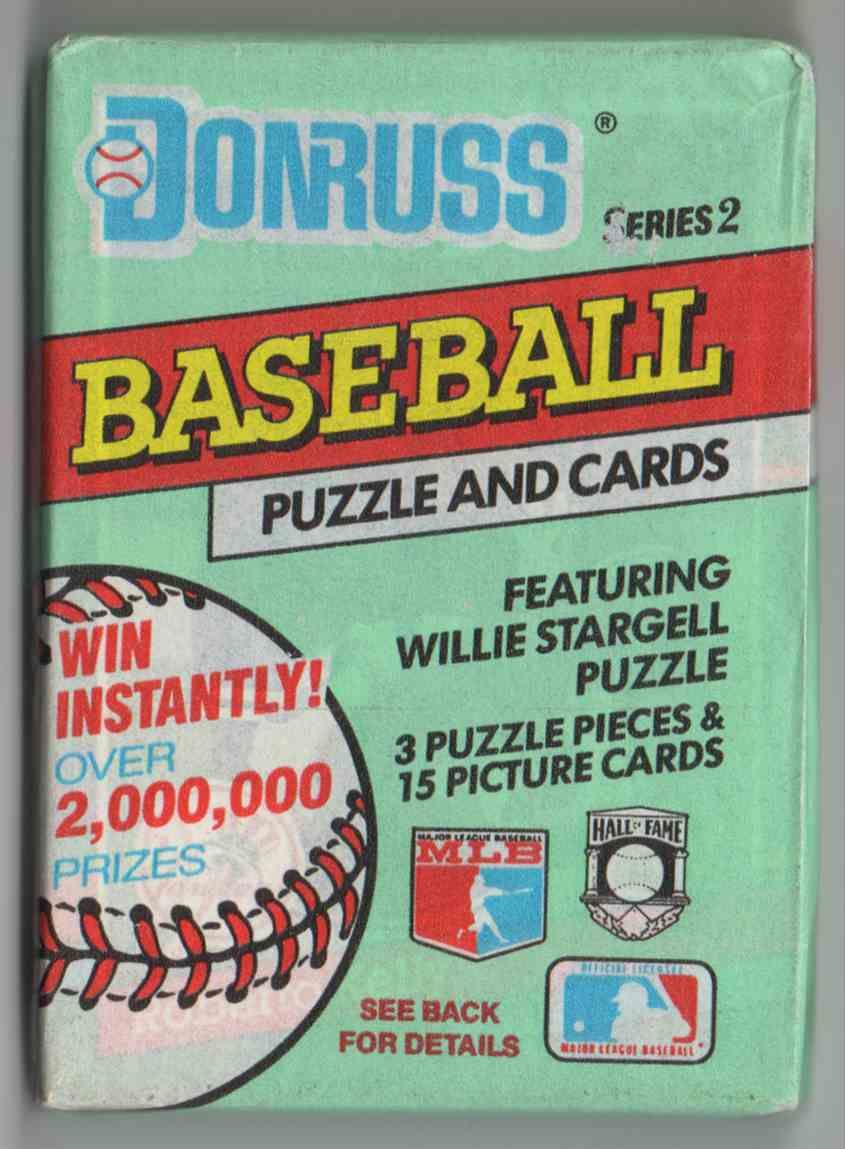 1991 Donruss Series 2 Unopened Pack #15 card front image