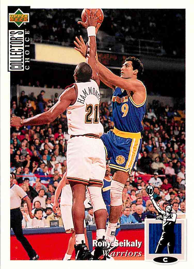 1994-95 Collector's Choice Rony Seikaly #351 card front image