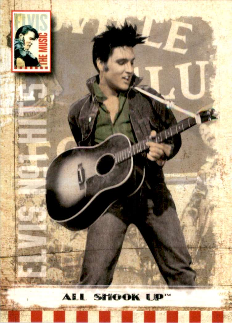 2007 Elvis The Music All Shook Up #6 card front image