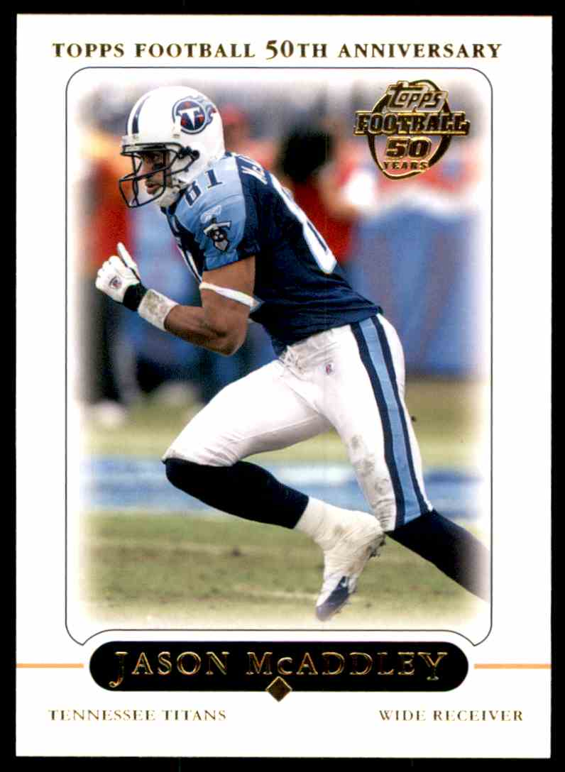 2005 Topps Jason McAddley #305 card front image