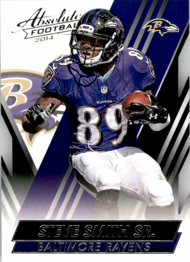 2014 Absolute Retail Steve Smith #4 card front image