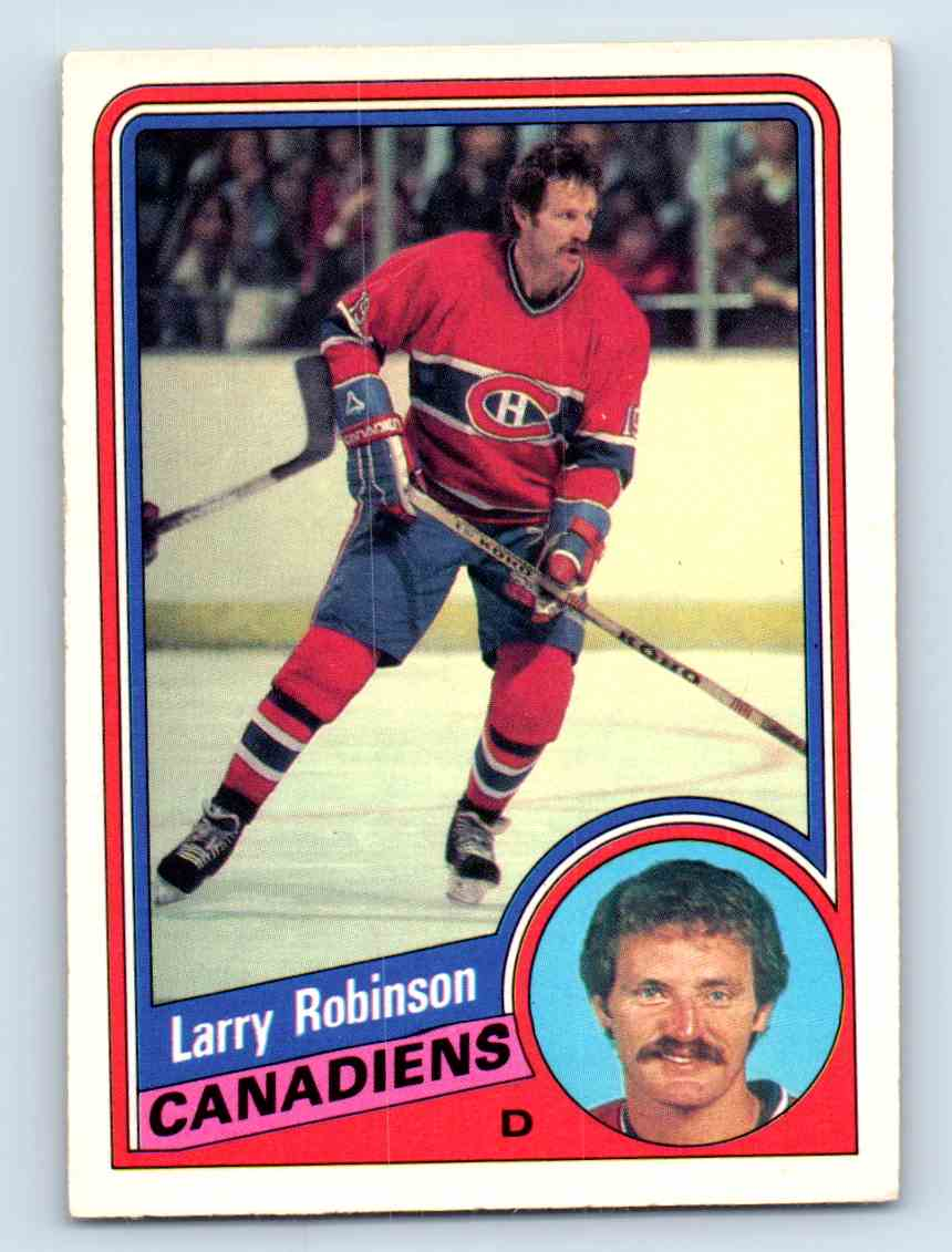 1984-85 O-Pee-Chee Larry Robinson #270 card front image