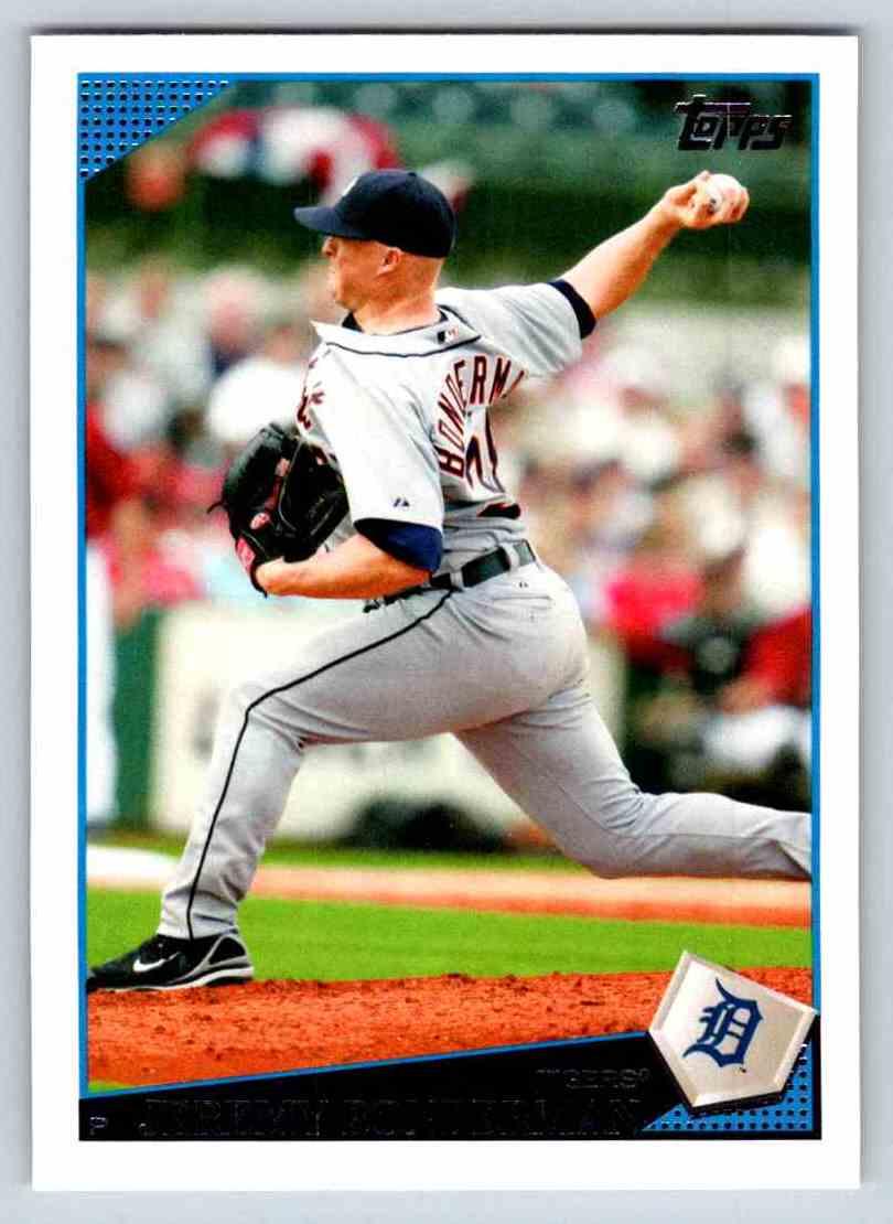 2009 Topps Jeremy Bonderman #458 card front image