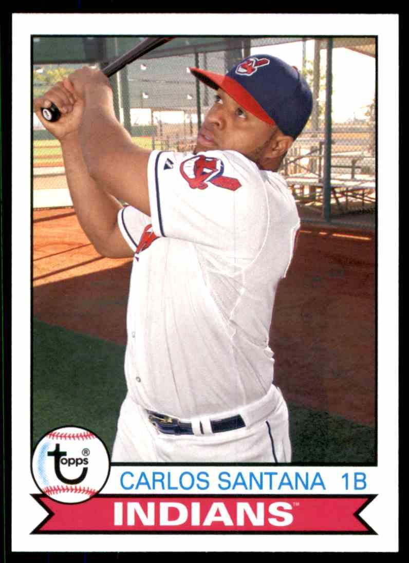 2016 Topps Archives Carlos Santana #132 card front image