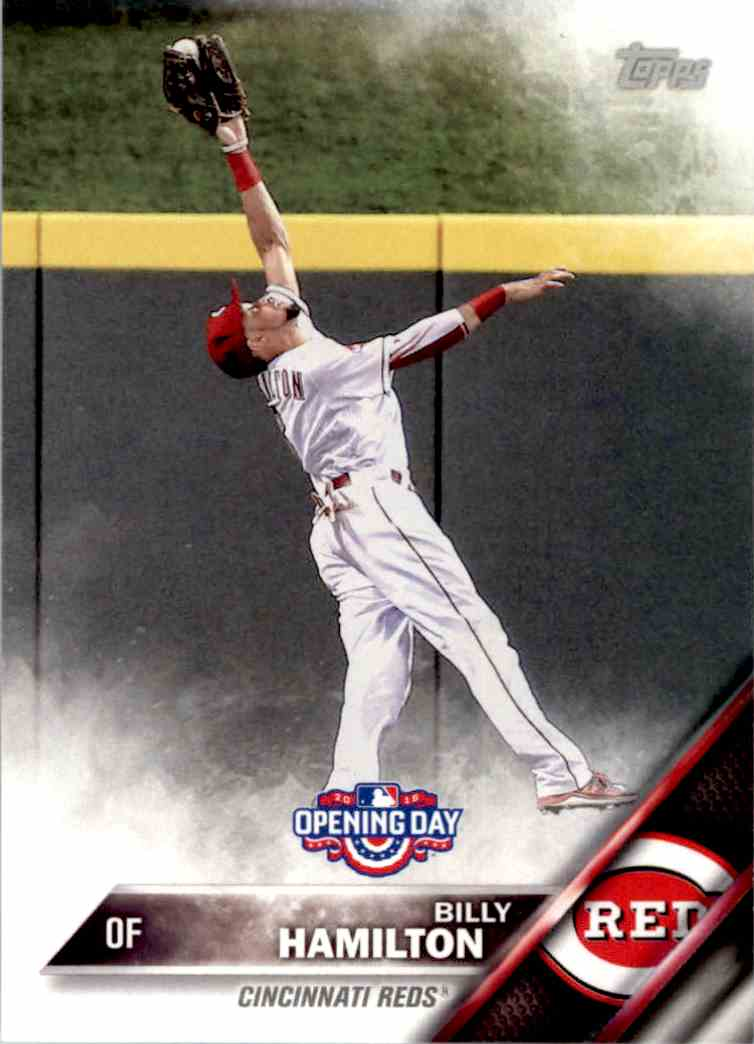 2016 Topps Opening Day Billy Hamilton #OD-190 card front image