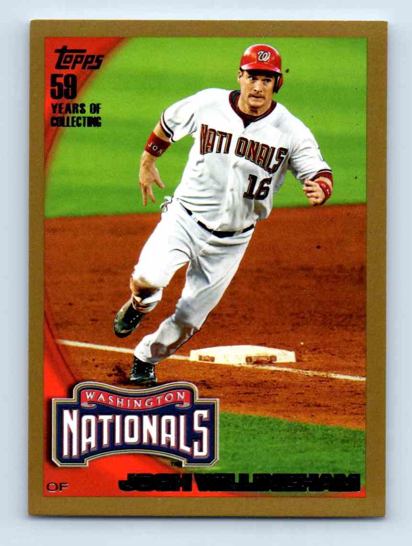 2010 Topps Gold Border Josh Willingham #570 card front image