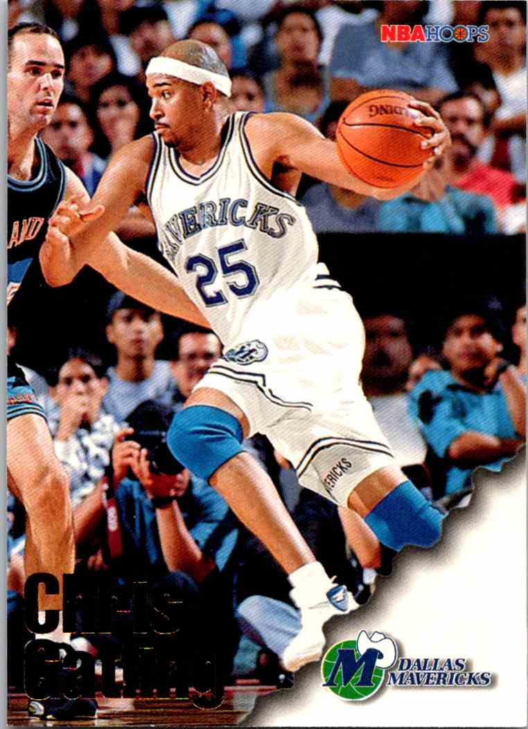 1997-98 NBA Hoops Chris Gatling #206 card front image