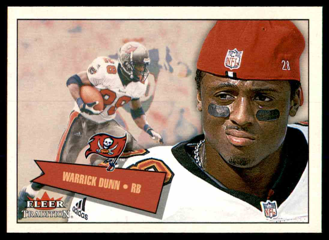2001 Fleer Tradition Warrick Dunn #291 card front image
