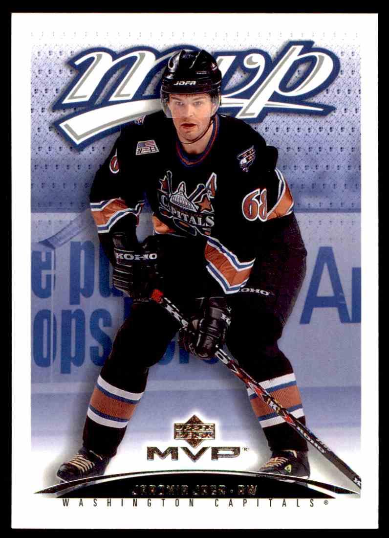 2003-04 Upper Deck MVP Jaromir Jagr #424 card front image