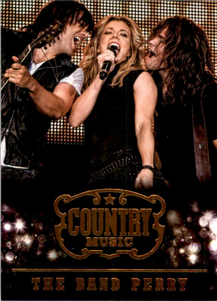2015 Country Music Retail The Band Perry #83 card front image