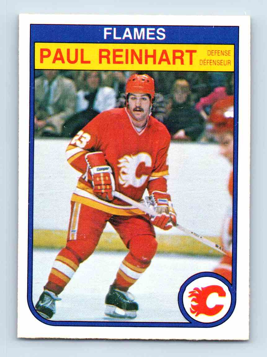 1982-83 O-Pee-Chee Paulreinhart #56 card front image