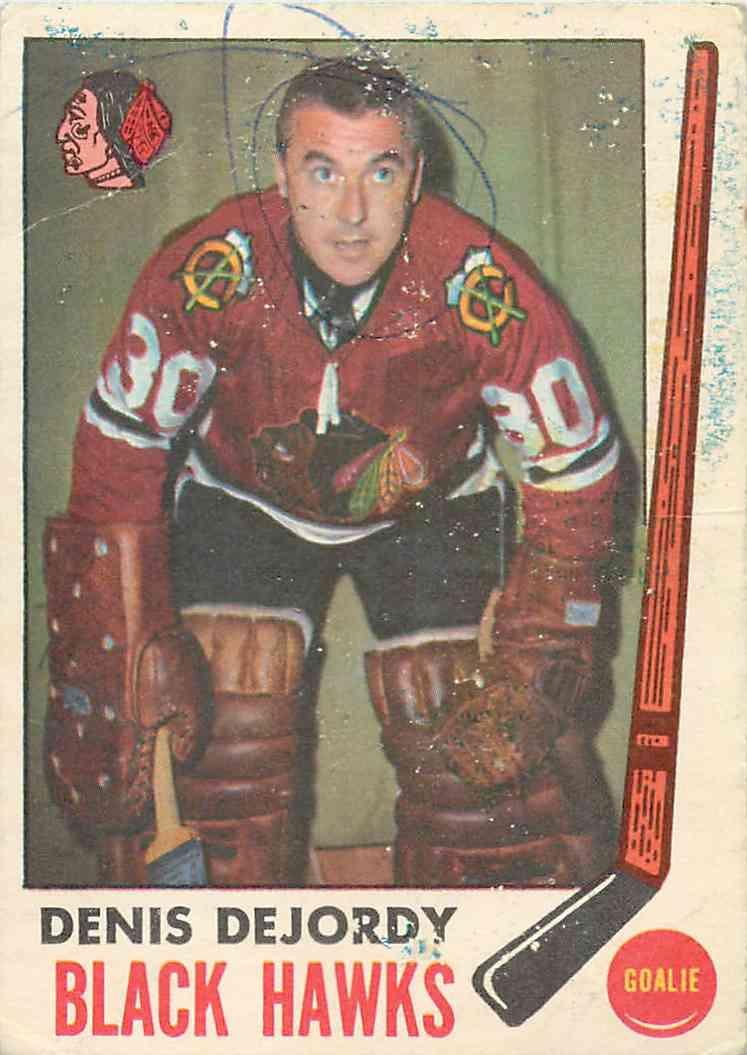 1969-70 Topps Denis Dejordy #66 card front image