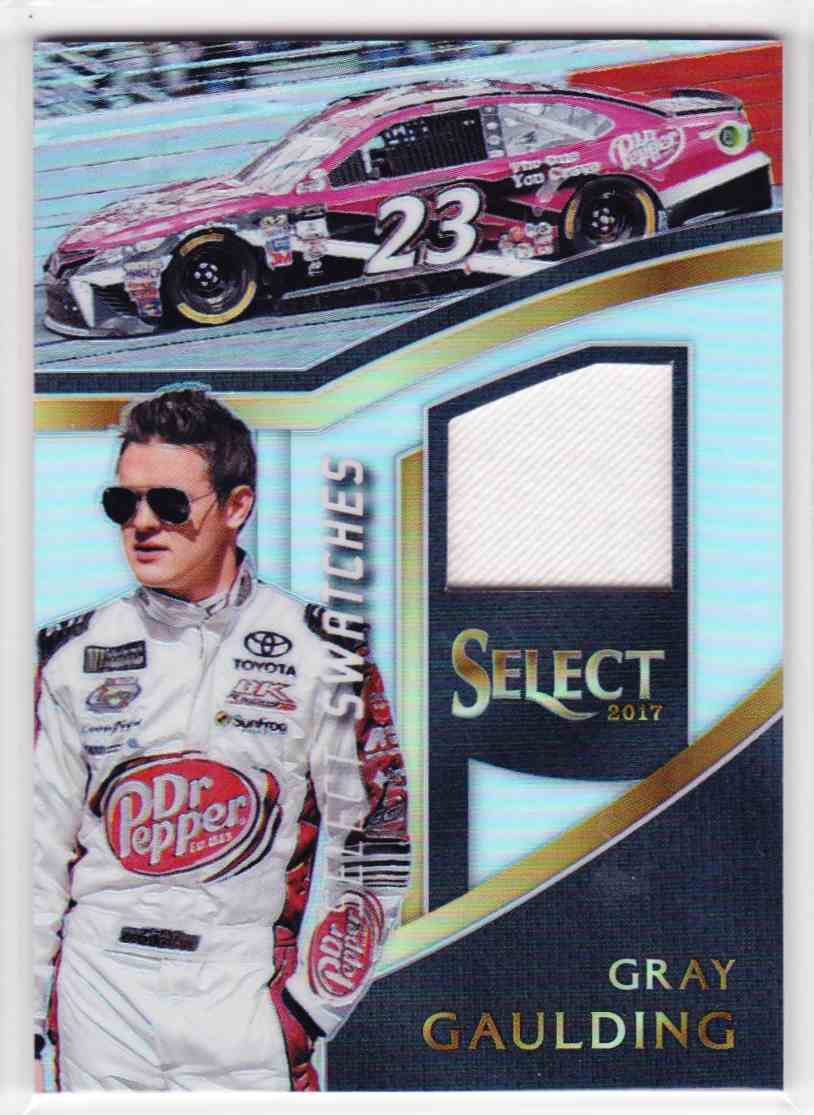 2017 Select Select Swatches Gray Gaulding #GG card front image