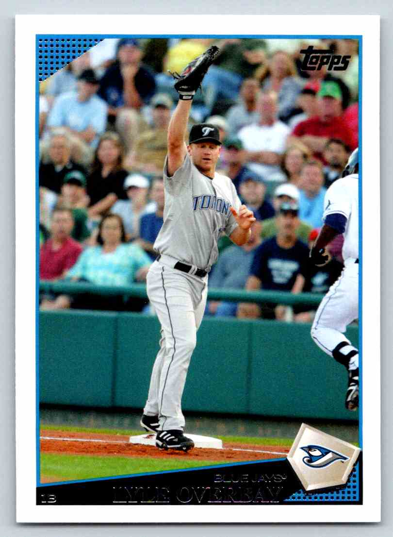 2009 Topps Lyle Overbay #629 card front image