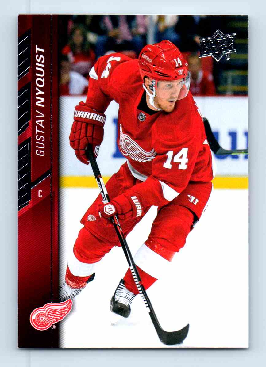 2015-16 Upper Deck Series Two Gustav Nyquist #322 card front image