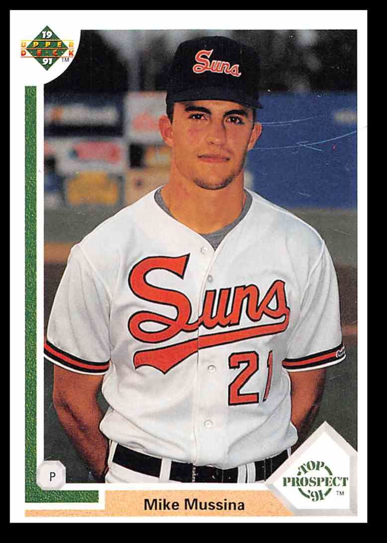 1991 Upper Deck Mike Mussina 65 Card Front Image
