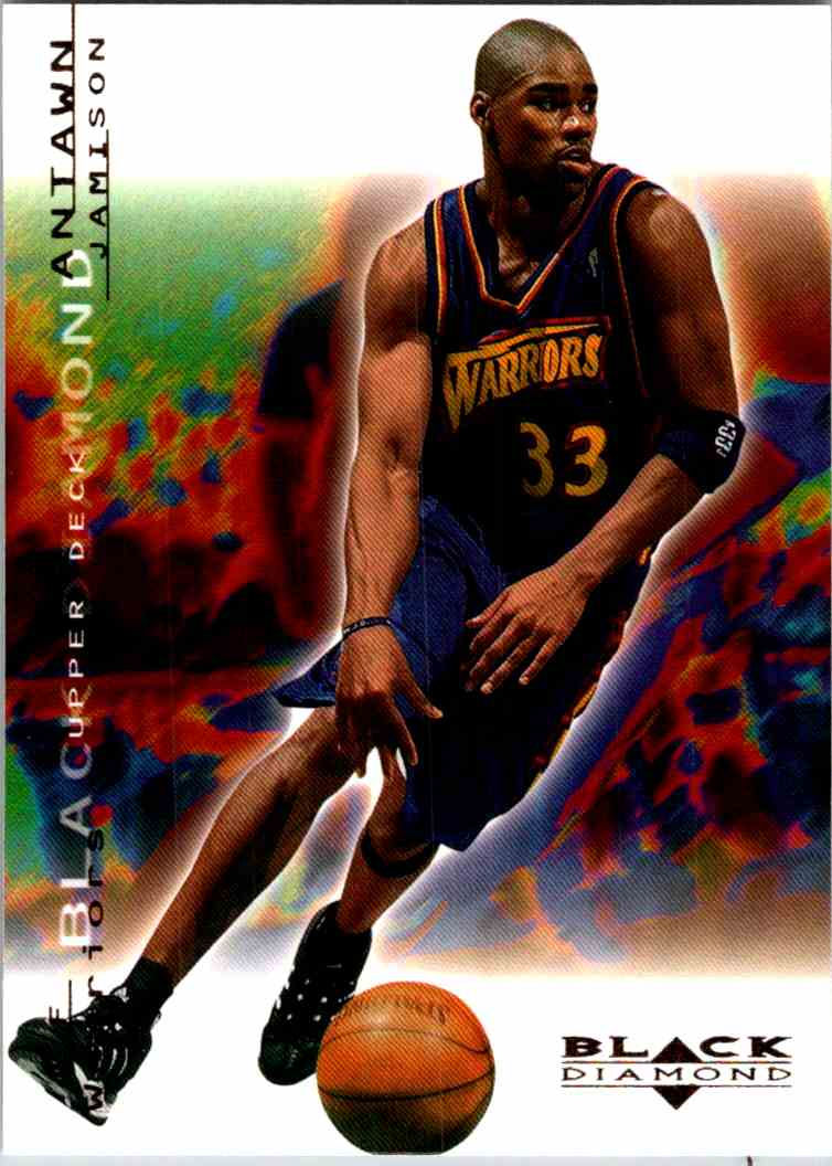 2000-01 Upper Deck Black Diamond Antawn Jamison #25 card front image