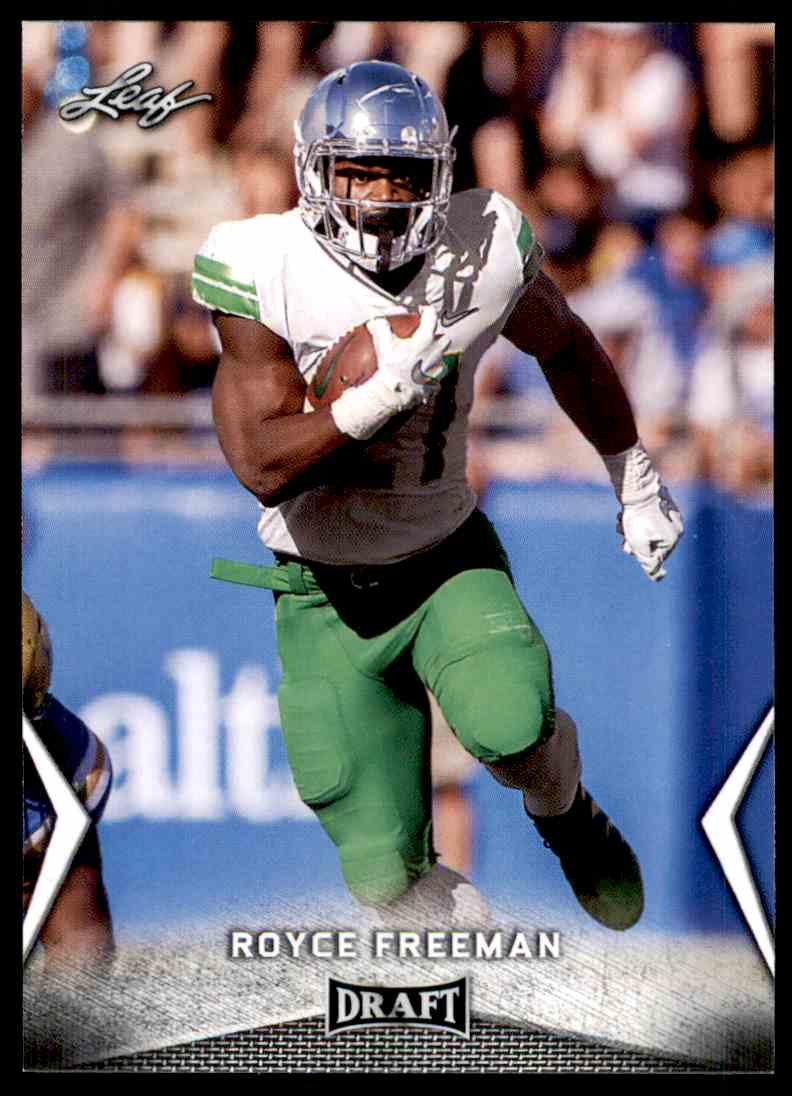 2018 Leaf Draft Royce Freeman #53 card front image