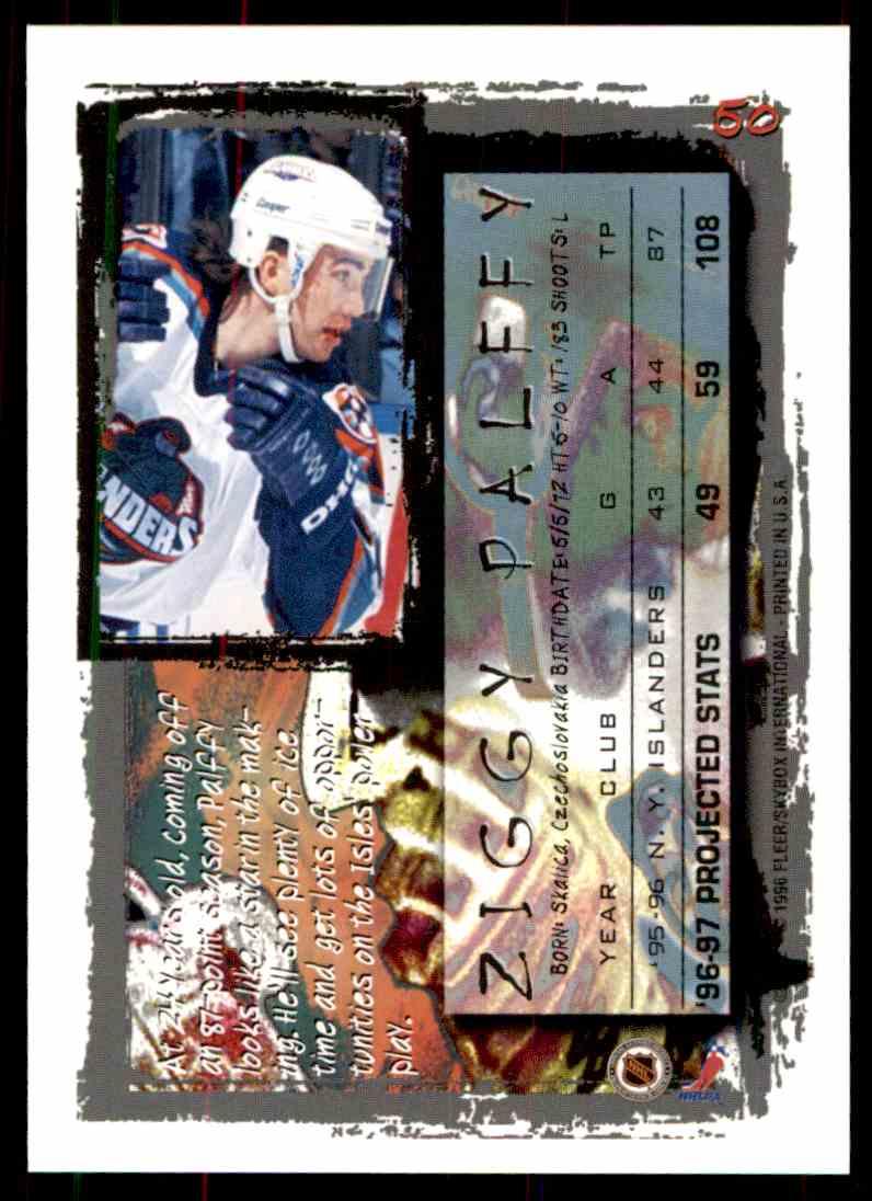 1996-97 Fleer Ziggy Palffy #50 card back image