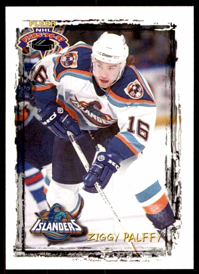 1996-97 Fleer Ziggy Palffy #50 card front image