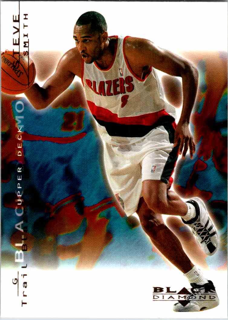 2000-01 Upper Deck Black Diamond Steve Smith #69 card front image