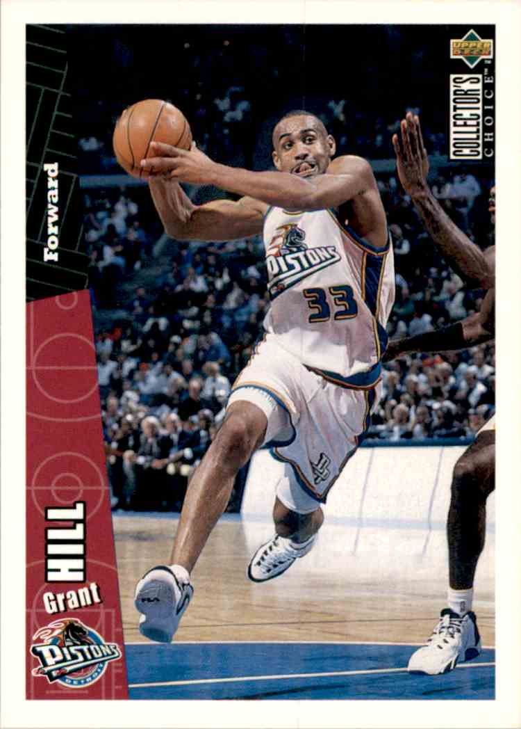 1996-97 Collector's Choice Grant Hill #240 card front image
