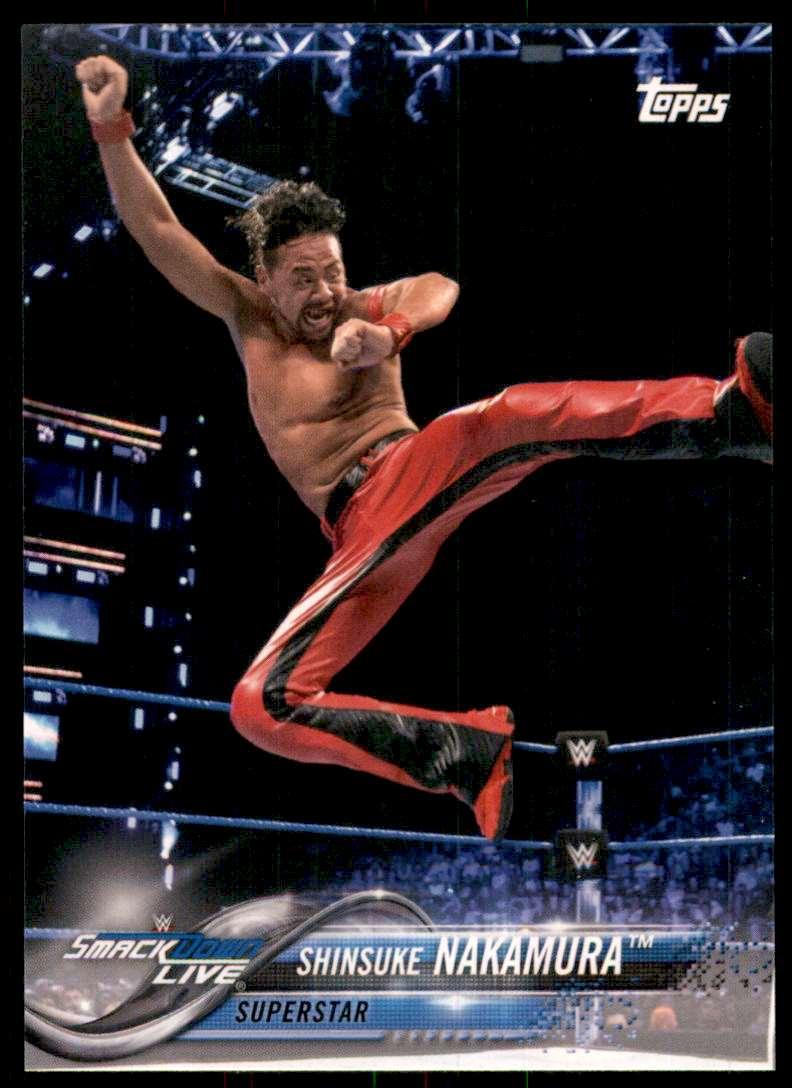 2018 Topps Wwe Then Now Forever Shinsuke Nakamura #178 card front image