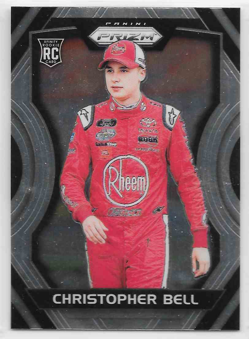 2018 Panini Prizm Christopher Bell #39 card front image