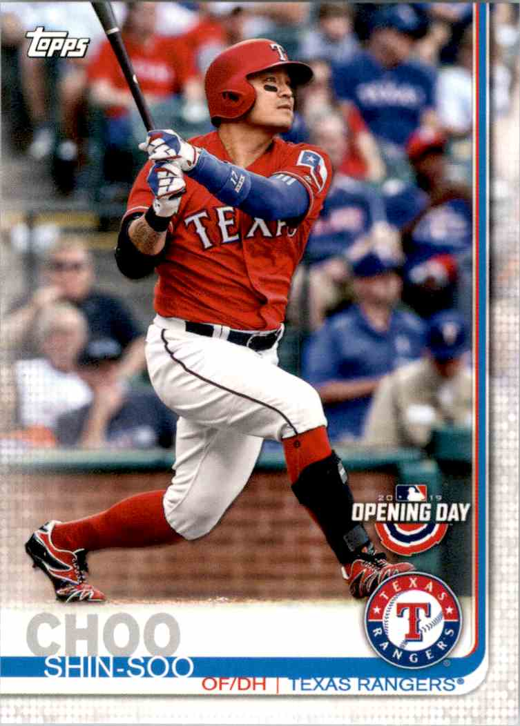 2019 Topps Opening Day Shin-Soo Choo #200 card front image