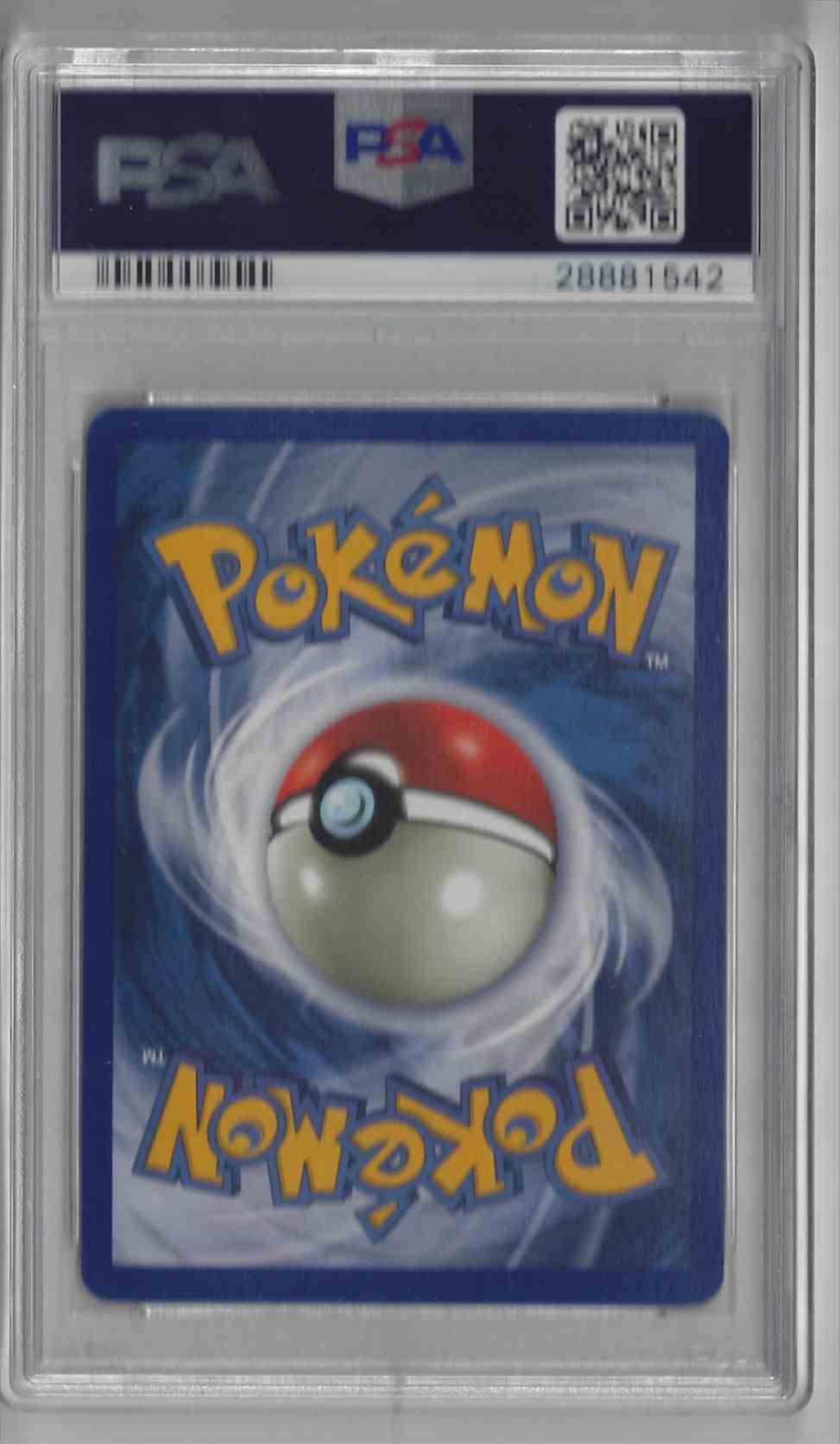 1999 Pokemon Game Unlimited Gyarados #6 card back image