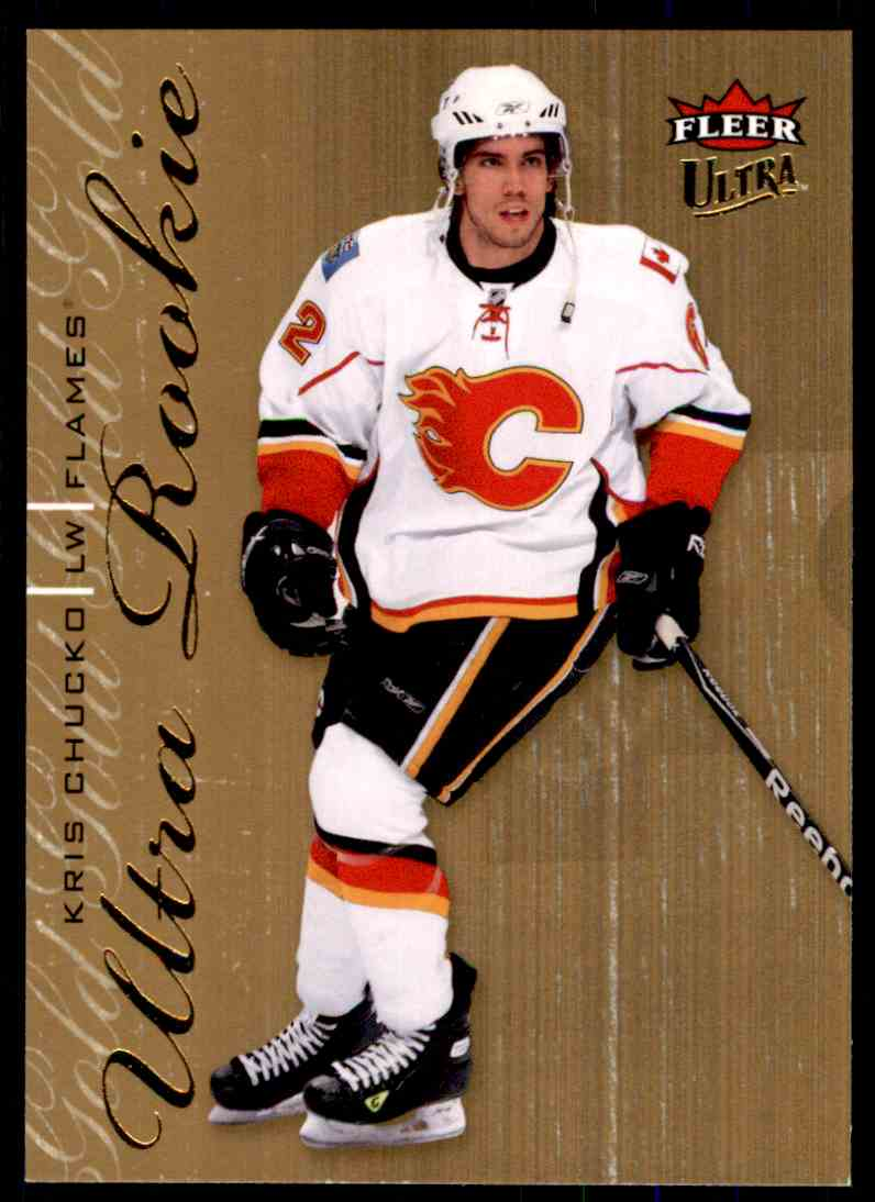 2009-10 Ultra Gold Medallion Rookie Kris Chucko #226 card front image