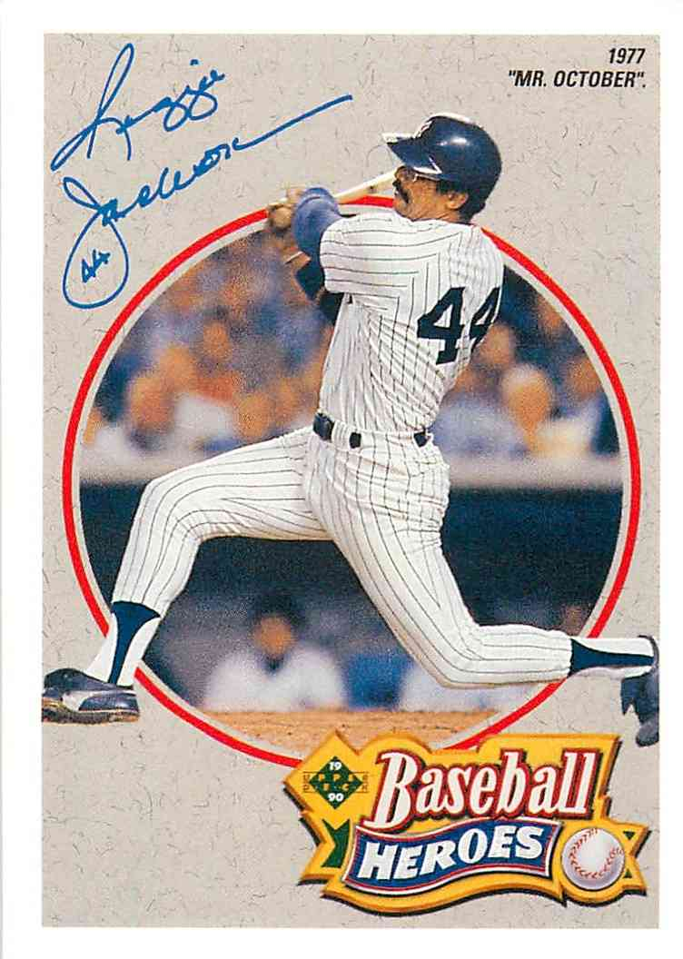 1992 Upper Deck Baseball Heroes Reggie Jackson 3 Of 9 On Kronozio