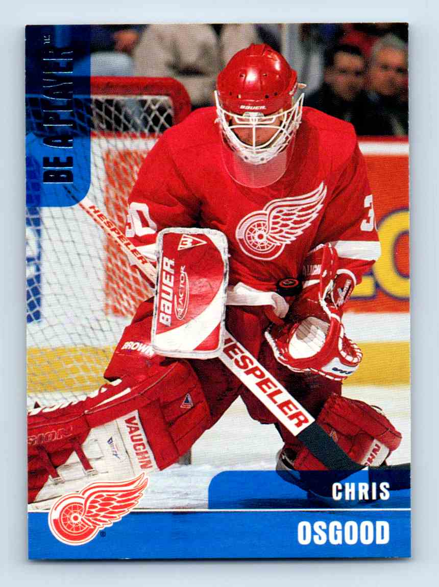 1999-00 Be A Player Chris Osgood #135 card front image