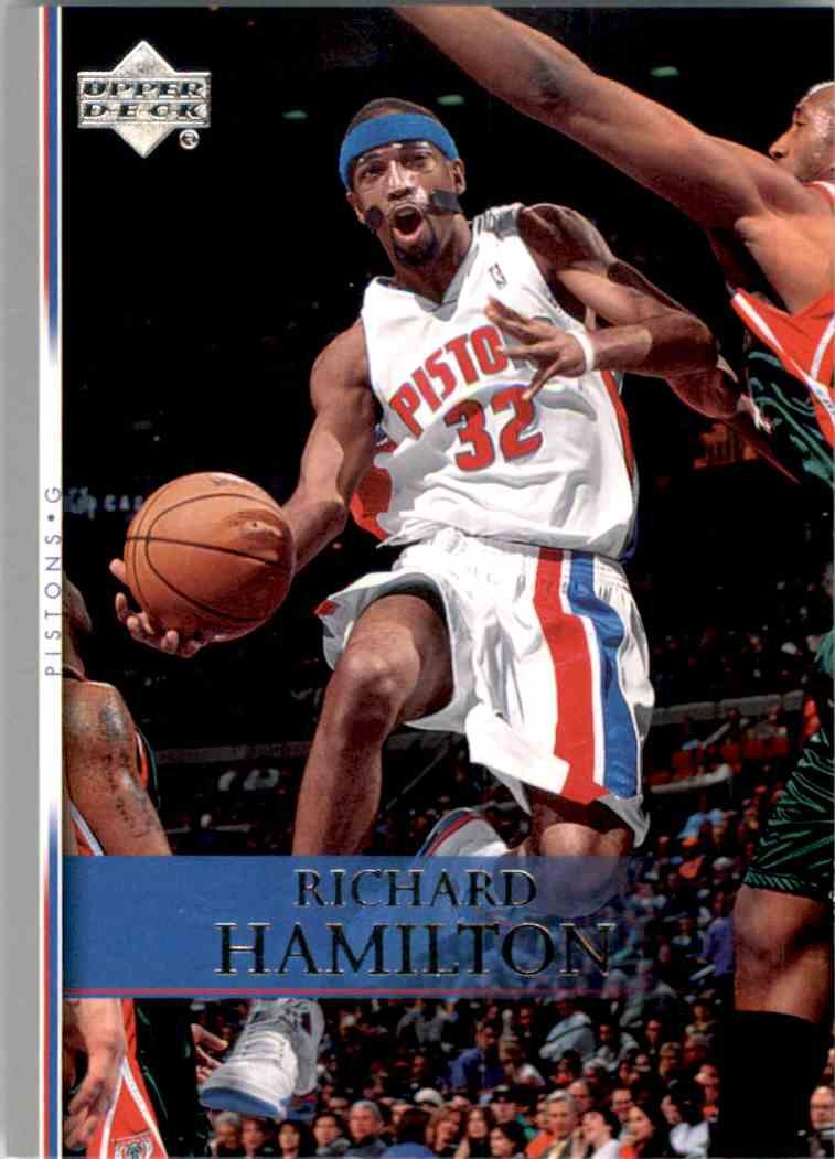 2007-08 Upper Deck Richard Hamilton #125 card front image