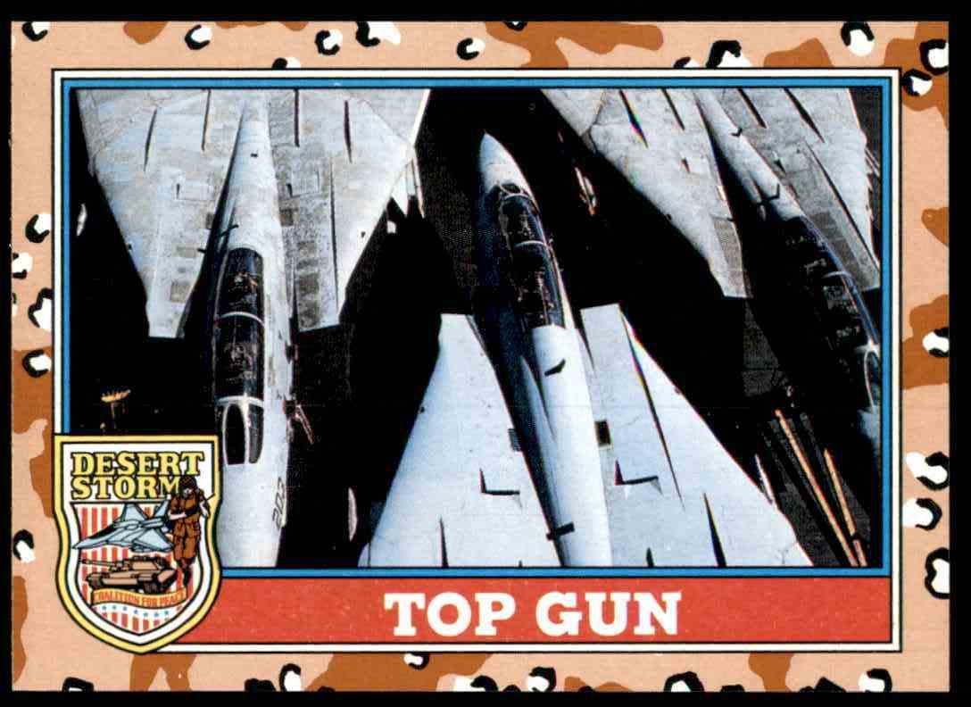 1991 Desert Storm Topps Top Gun #149 card front image