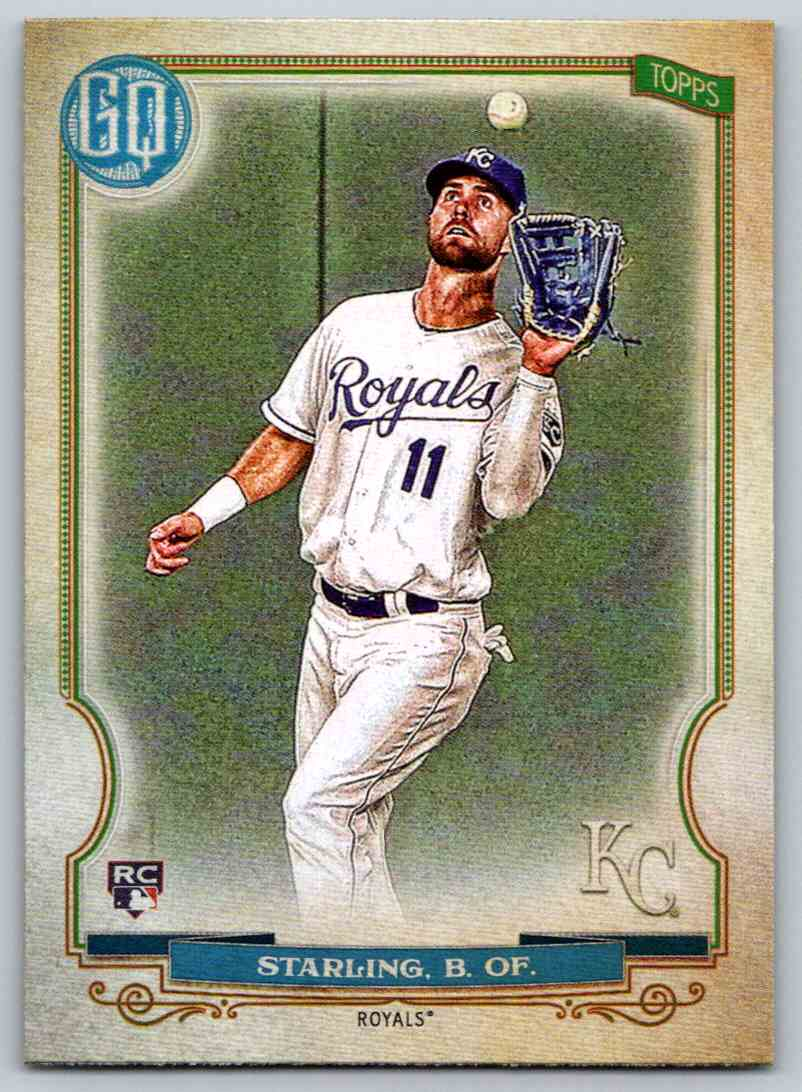 2020 Topps Gypsy Queen Base Bubba Starling #147 card front image
