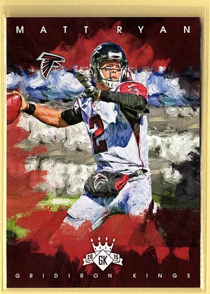 2015 Gridiron Kings Matt Ryan #44 card front image