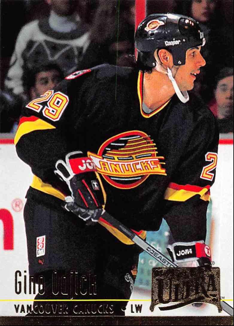 1994-95 Ultra Gino Ogjick #229 card front image