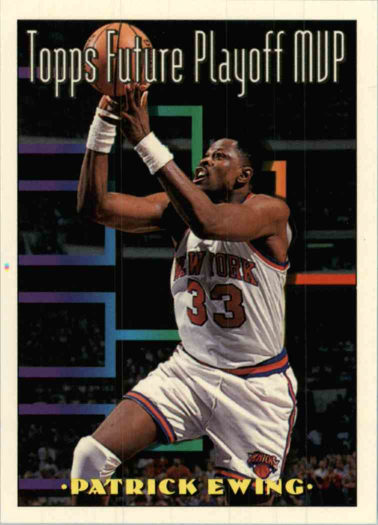 1994-95 Topps Patrick Ewing #200 card front image