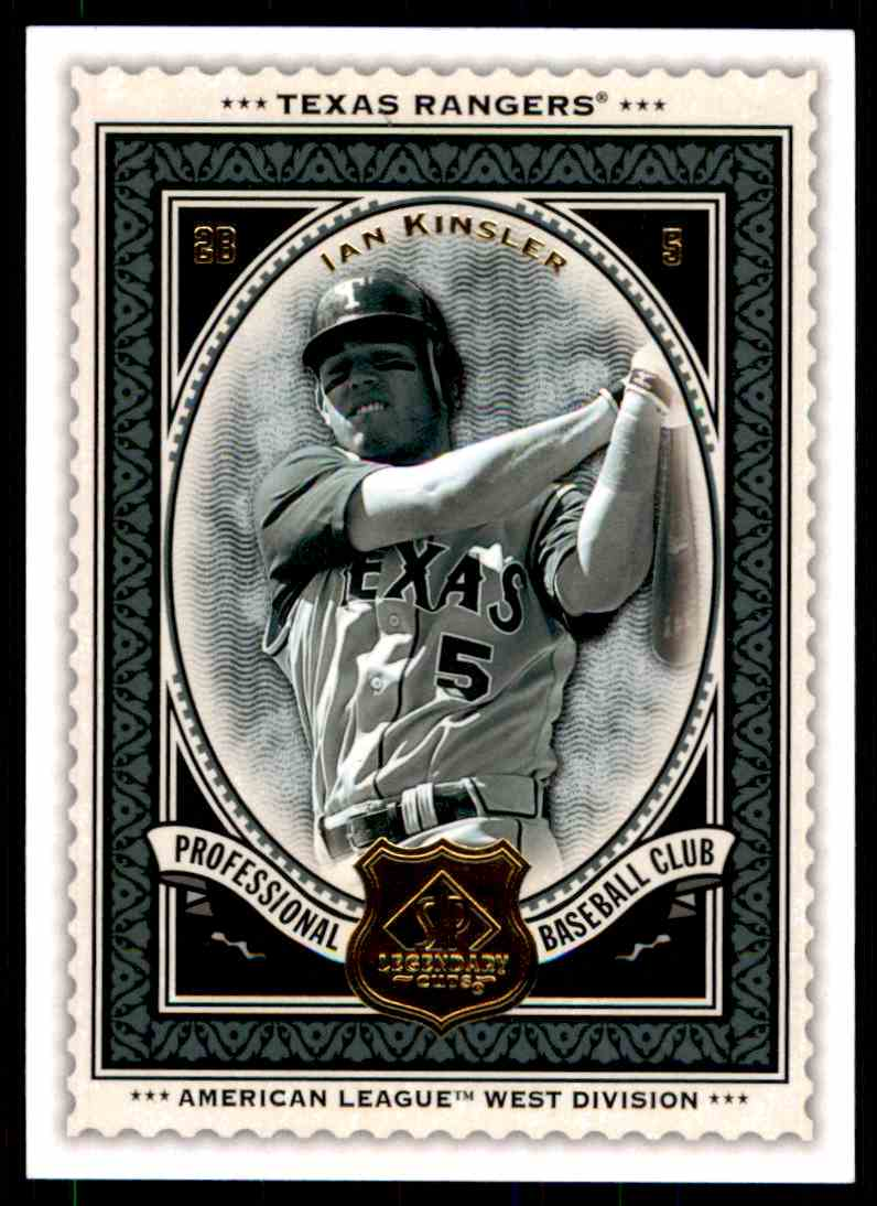 2009 SP Legendary Cuts Ian Kinsler #68 card front image
