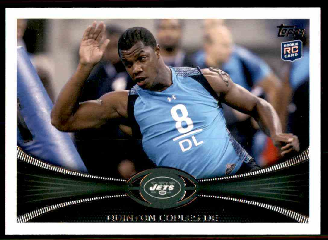 2012 Topps Quinton Coples RC #126 card front image
