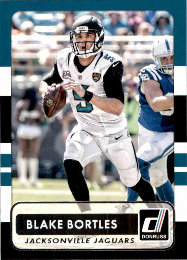 2015 Donruss Blake Bortles #17 card front image