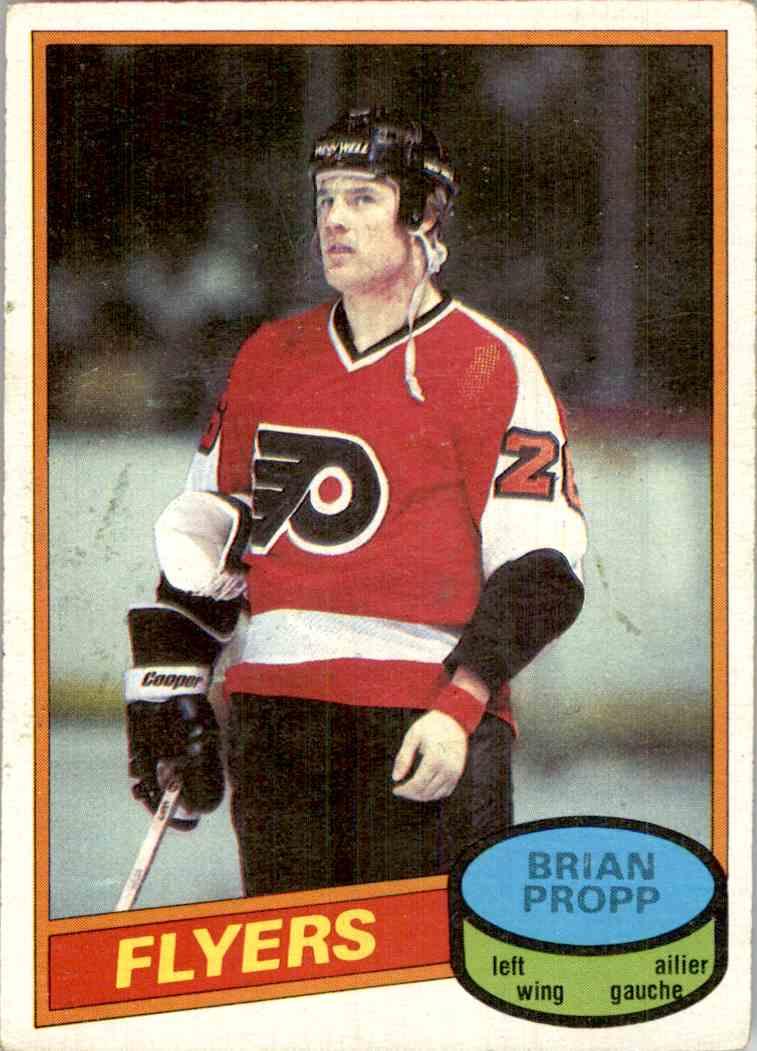 1980-81 O-Pee-Chee Brian Propp #39 card front image
