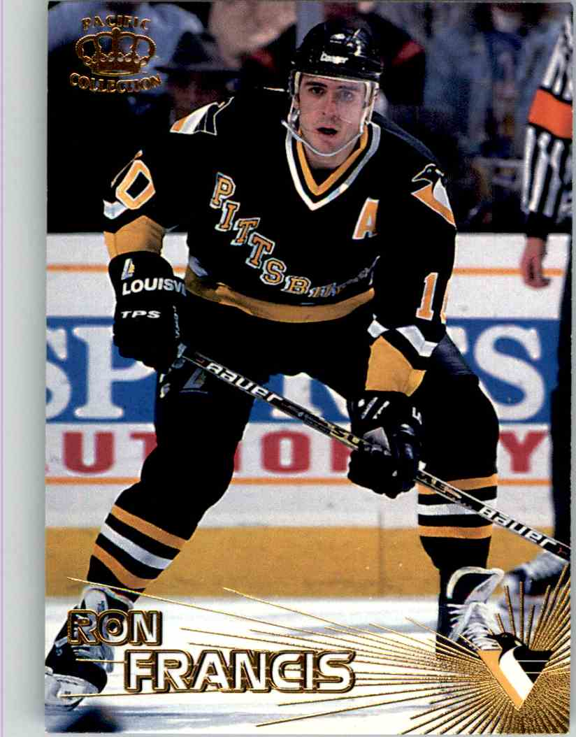 1997-98 Pacific Crown Collection Ron Francis #123 card front image