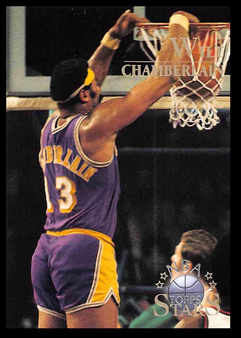 1996-97 Topps Topps Stars Wilt Chamberlain #9 card front image